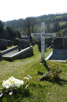 Grave of Dylan Thomas  © Andrew Dally
