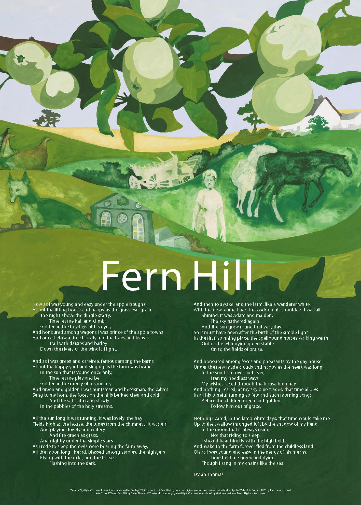 fern hill literary analysis Dive deep into dylan thomas' fern hill with extended analysis, commentary, and discussion.