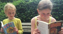 BBC girl reading Dylan Thomas