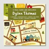 Graffeg Dylan Thomas trail cards
