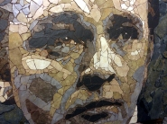 Richard Burton mosaic CU - credit Ed Chapman