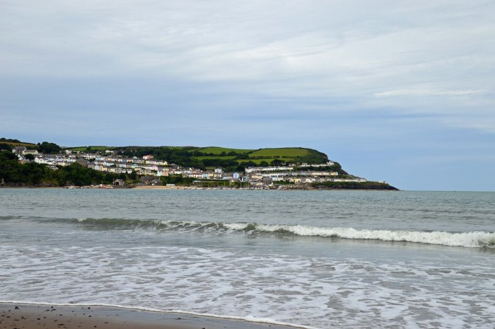 New Quay from Llanina sands